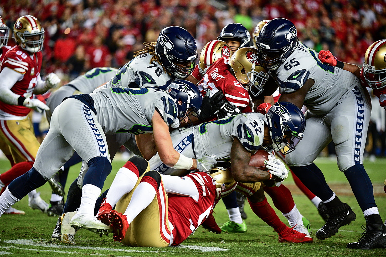 Seahawks 49ers Ratings Strong On Espn Sports Media Watch